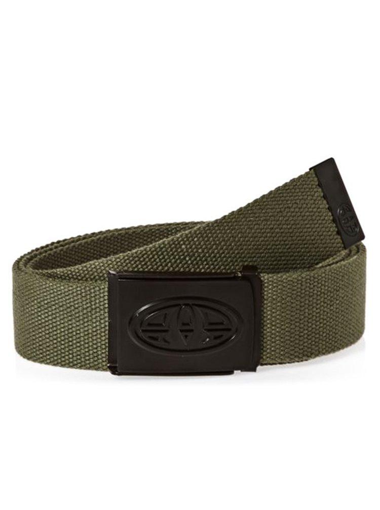 Animal REXX Dark Olive Green pánský pásek - zelená