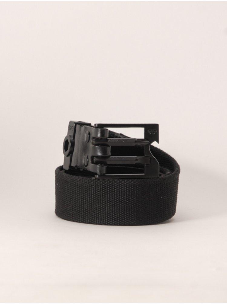 686 SURPLUS black pánský kožený pásek - černá