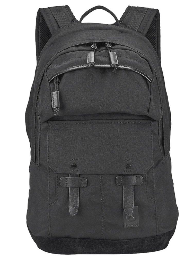 Nixon CANYON ALLBLACK batoh do školy - černá