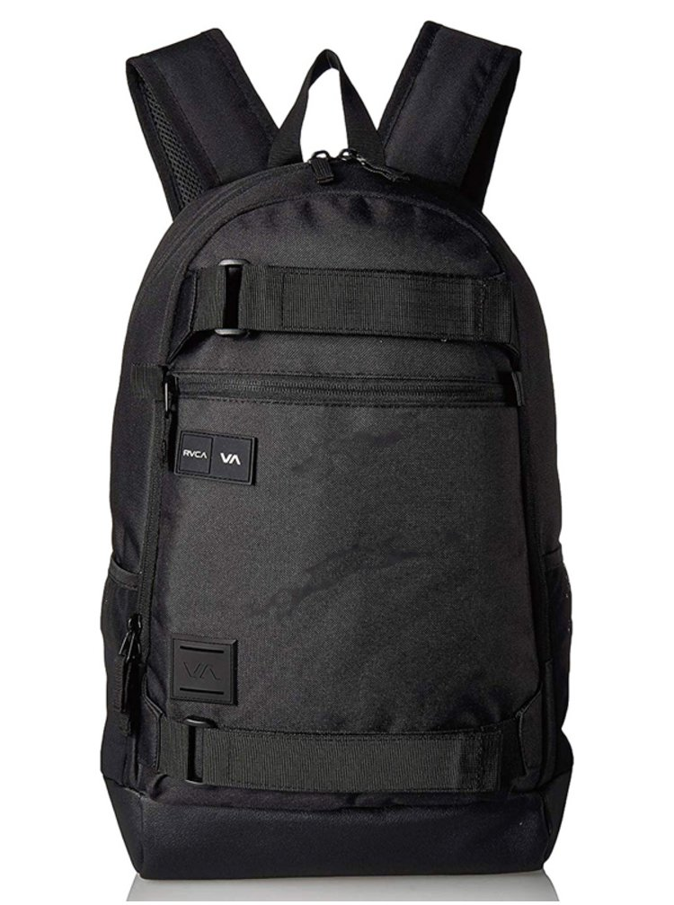 RVCA CURB black batoh do školy - černá