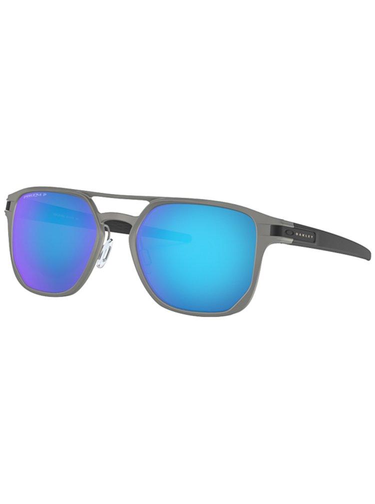Oakley Latch Alpha MttLtGnmtl w/ PRIZM Spph Pol sluneční brýle pilotky - šedá