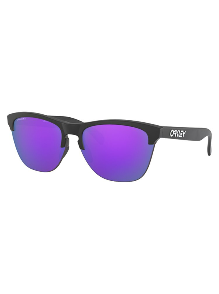 Oakley Frogskins Lite Mtt Black w/ PRIZM Violet sluneční brýle pilotky - černá