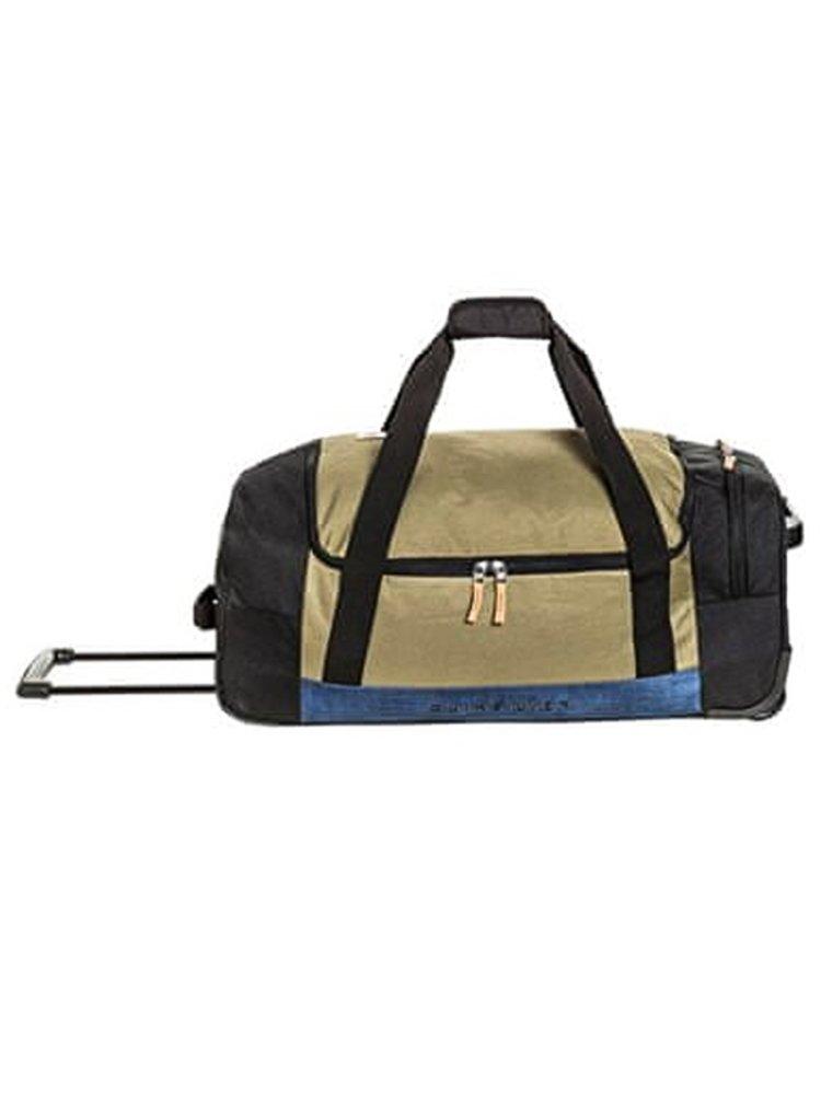 Quiksilver NEW CENTURION BURNT OLIVE cestovní taška - černá