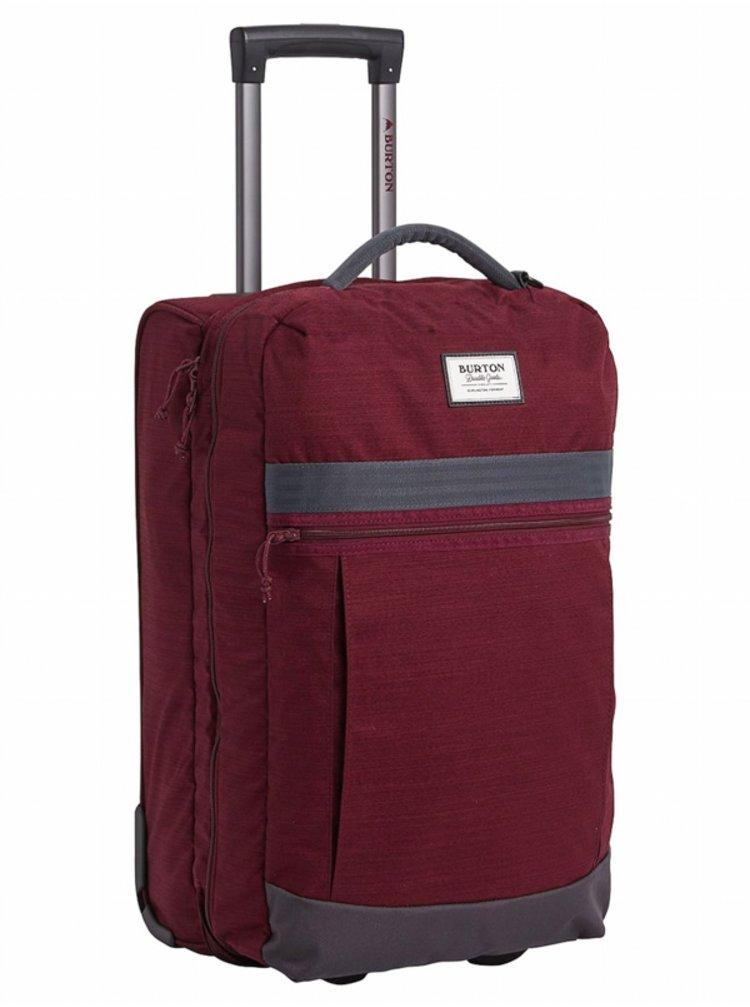 Burton CHARTER ROLLER PORT ROYAL SLUB kufr do letadla - vínová