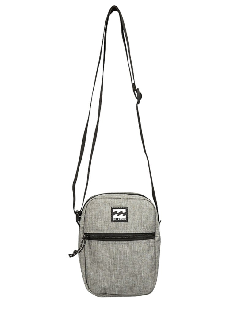 Billabong BOULEVARD SATCHEL grey heather pánská brašna - šedá