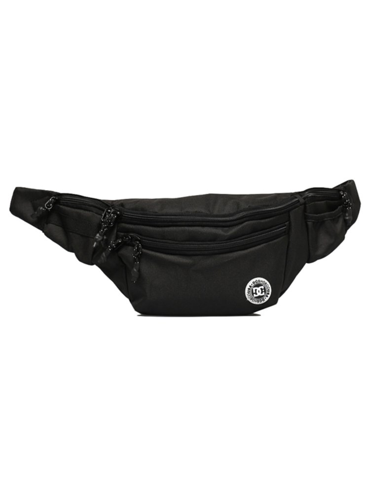 Dc WAISTAGE black pánské běžecká ledvinka - černá