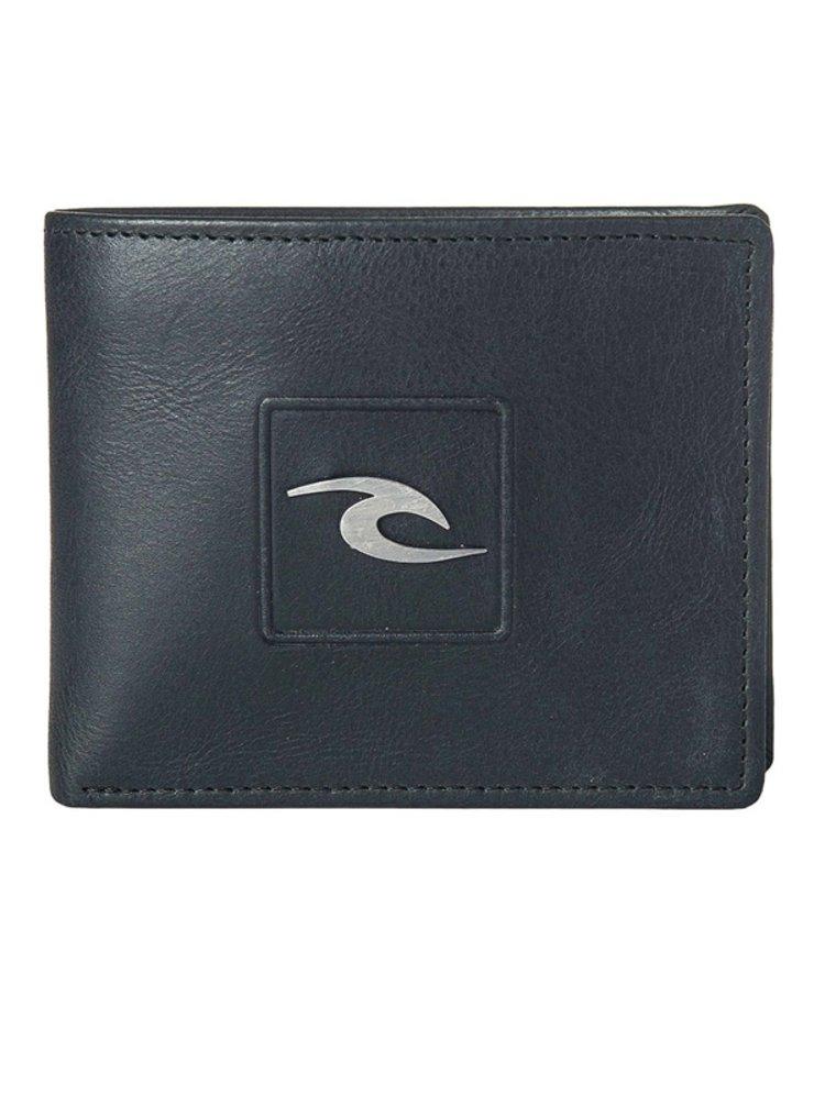 Rip Curl RIDER 2 IN 1  black pánská značková peněženka - černá