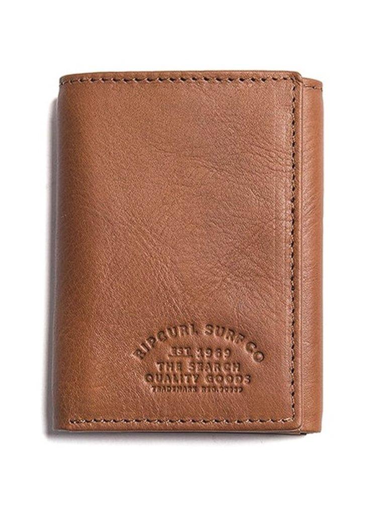 Rip Curl VERTICAL RFID ALL DA COGNAC pánská značková peněženka - hnědá