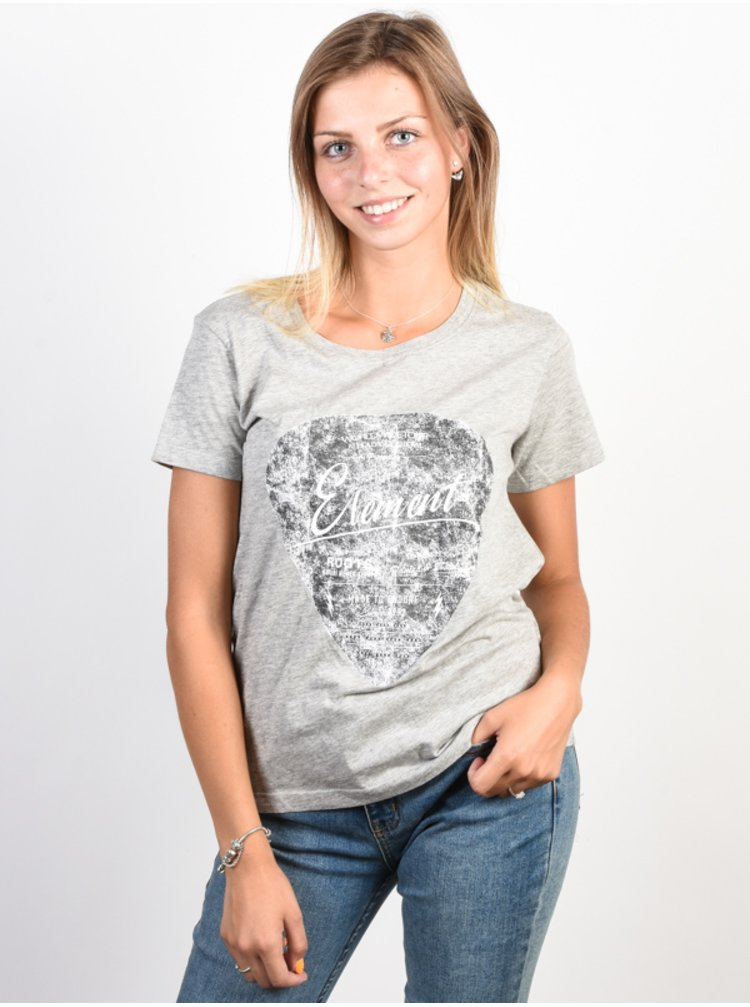 Element PIC HEATHER GREY dámské triko s krátkým rukávem - šedá
