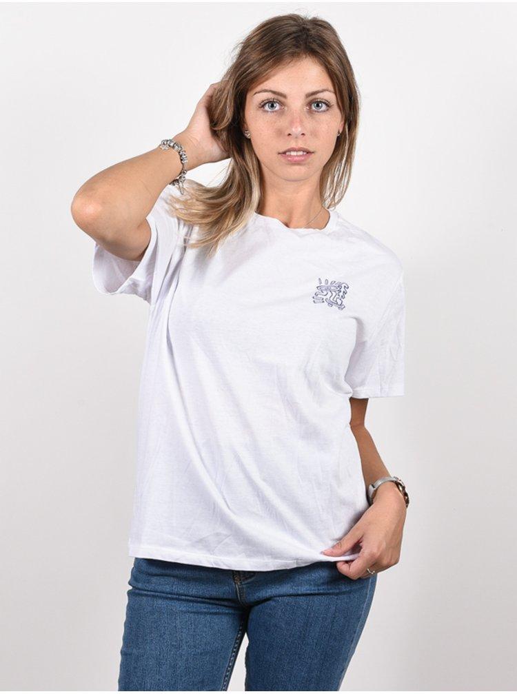 Element LARIMER WO OPTIC WHITE dámské triko s krátkým rukávem - bílá