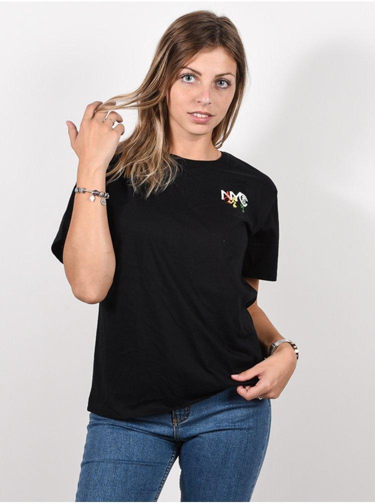 Element NYC ESP WO black dámské triko s krátkým rukávem - černá
