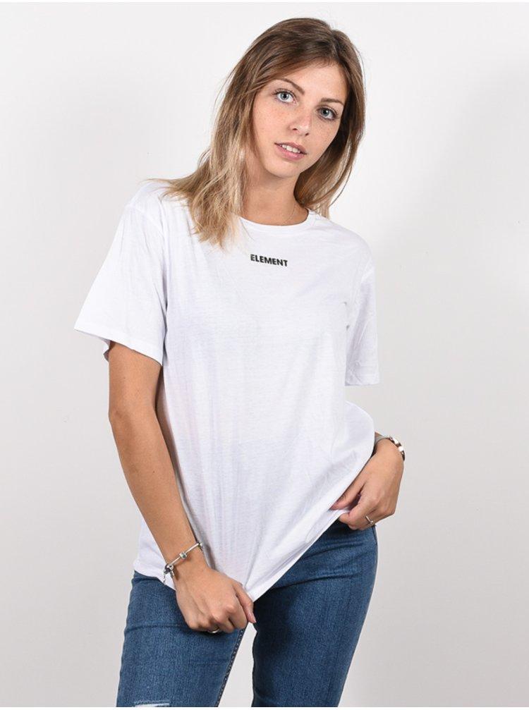 Element BEAMING WO OPTIC WHITE dámské triko s krátkým rukávem - bílá