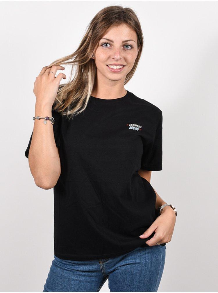 Element SAGE black dámské triko s krátkým rukávem - černá