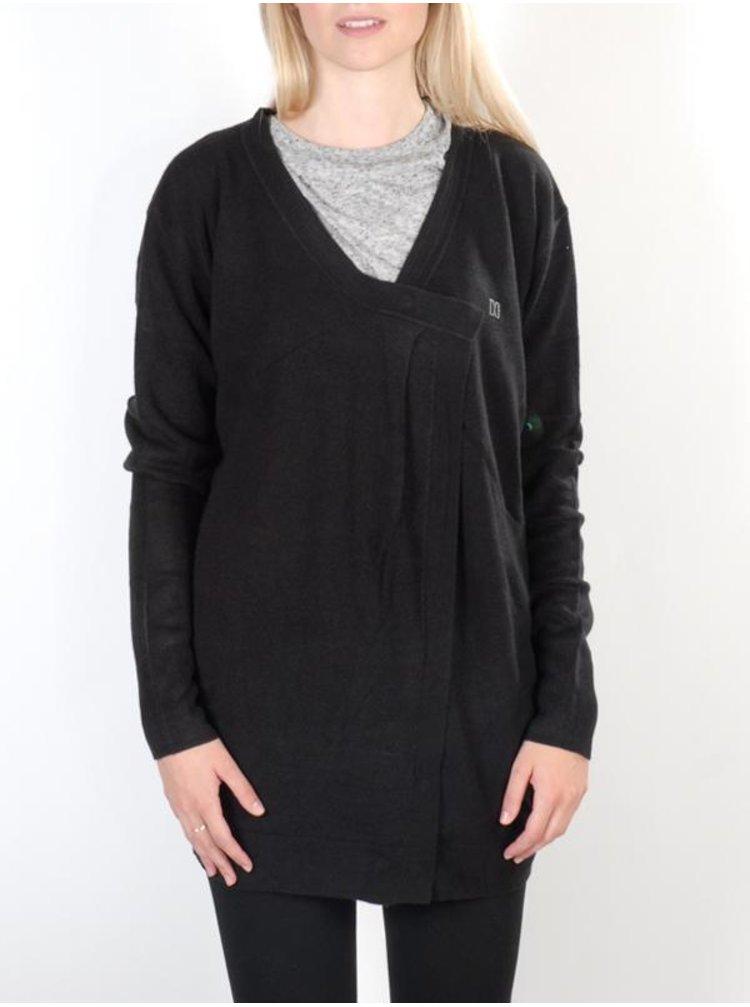 Dc CROWN OF LOVE black dámský svetr - černá