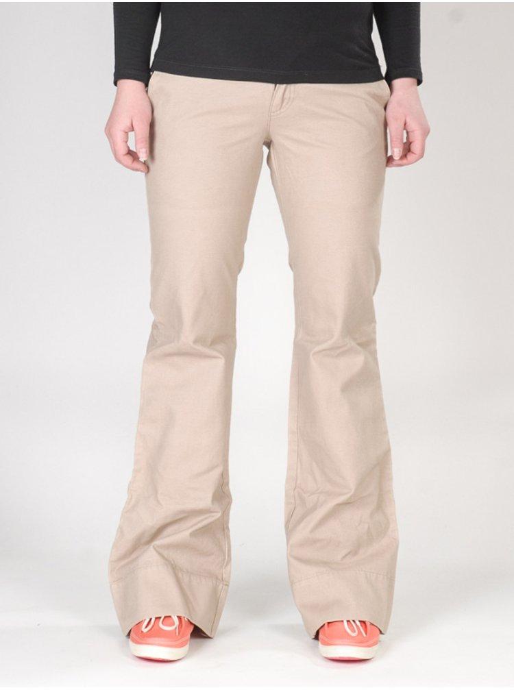 Mambo ML4888 BEI plátěné kalhoty dámské - béžová