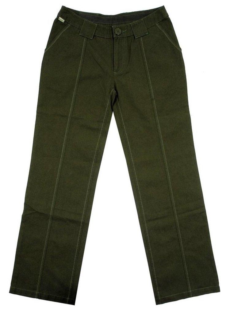 Mambo ML4570 GRN plátěné kalhoty dámské - zelená