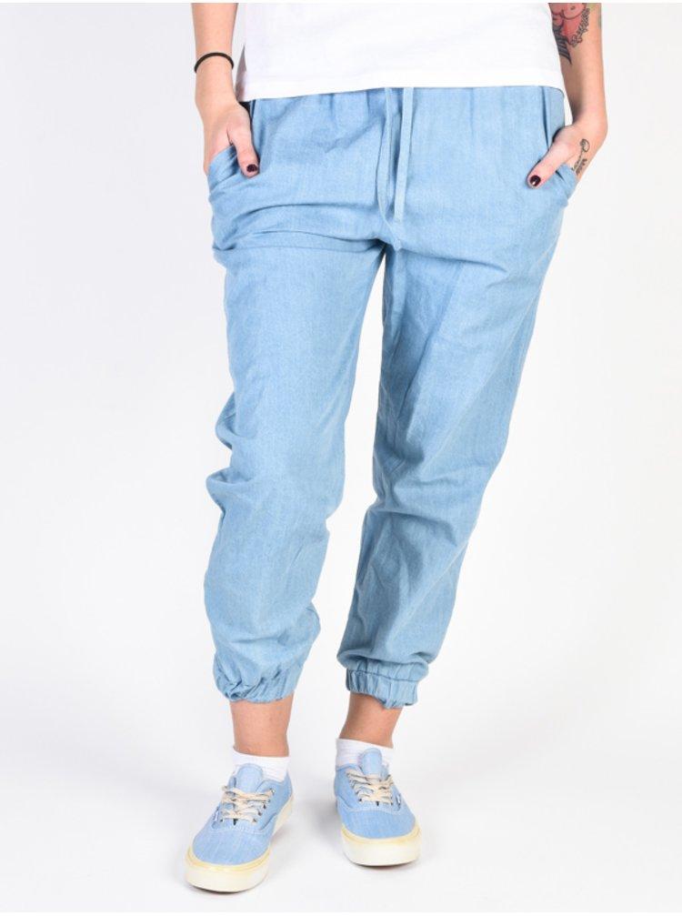 Ezekiel Tess LIDN plátěné kalhoty dámské - modrá