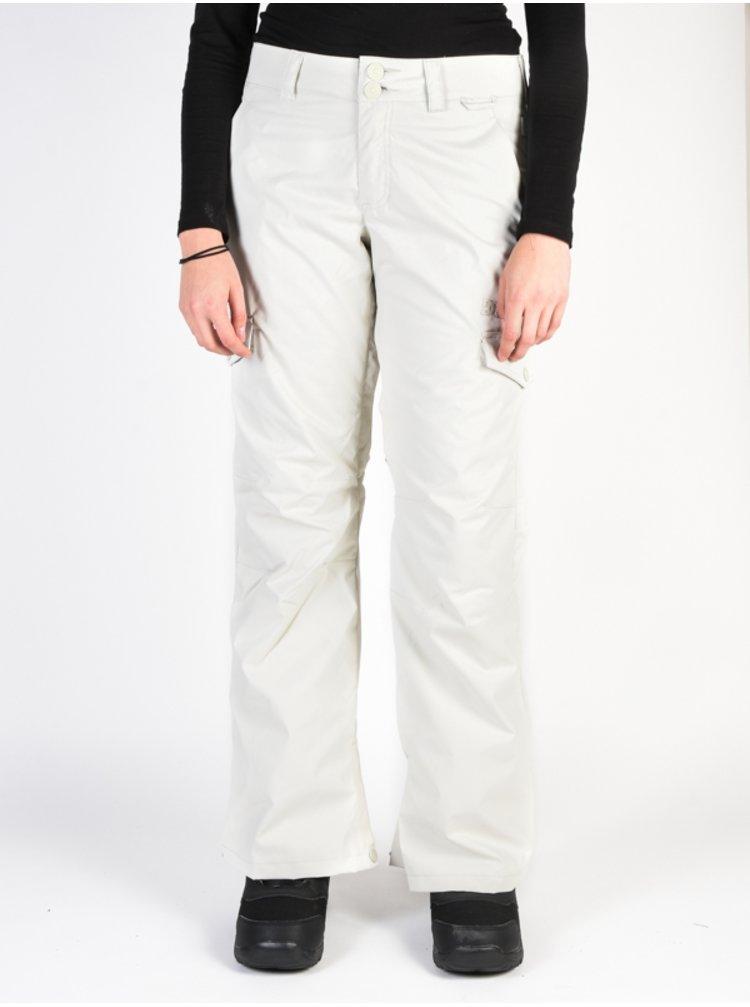 Dc ACE SILVER BIRCH dámské zimní kalhoty - bílá