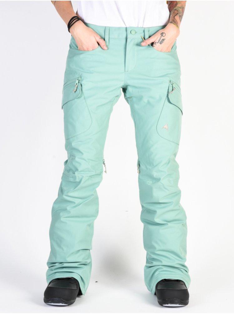 Burton GLORIA INS FELDSPAR dámské zimní kalhoty - zelená