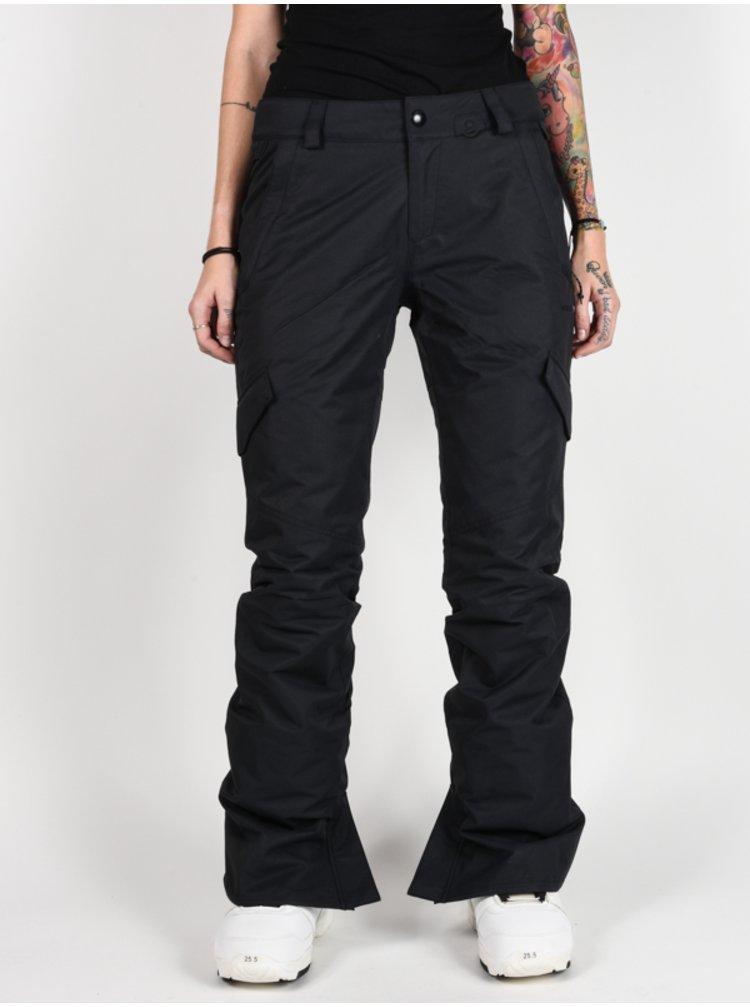 Volcom Bridger Ins black dámské zimní kalhoty - černá