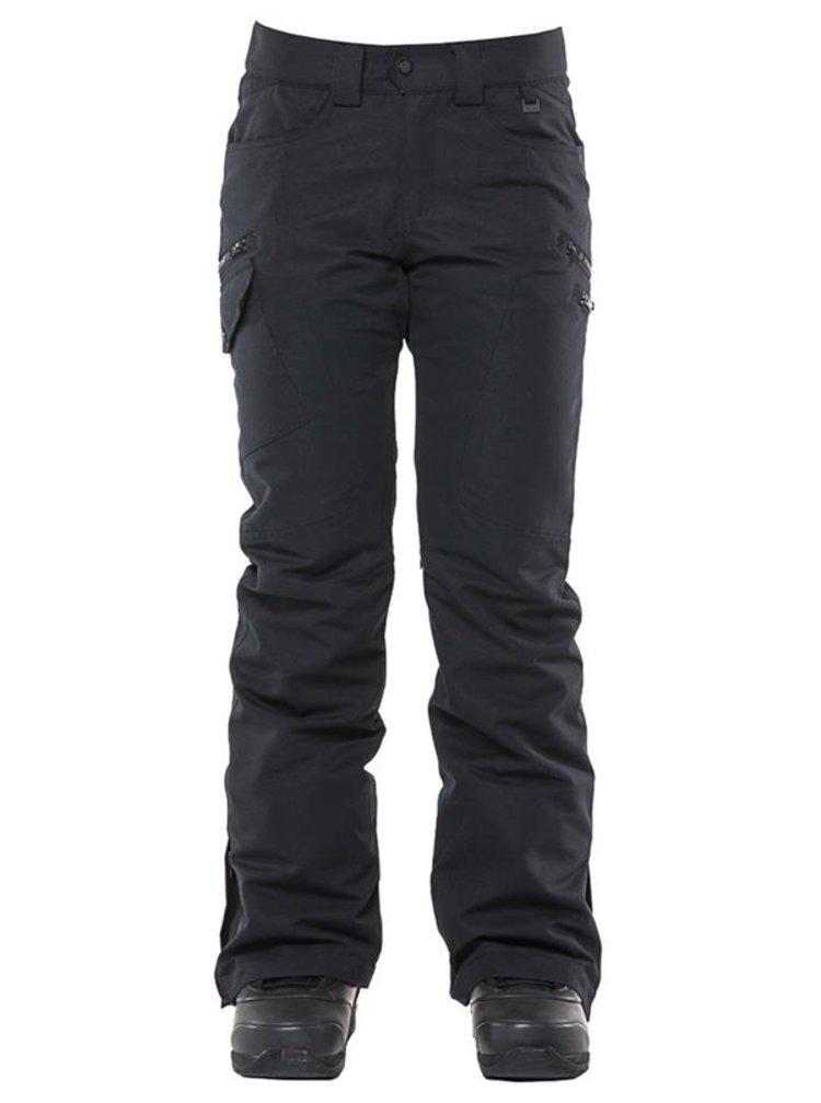 ROJO SNOW CULTURE TRUE BLACK dámské zimní kalhoty - černá