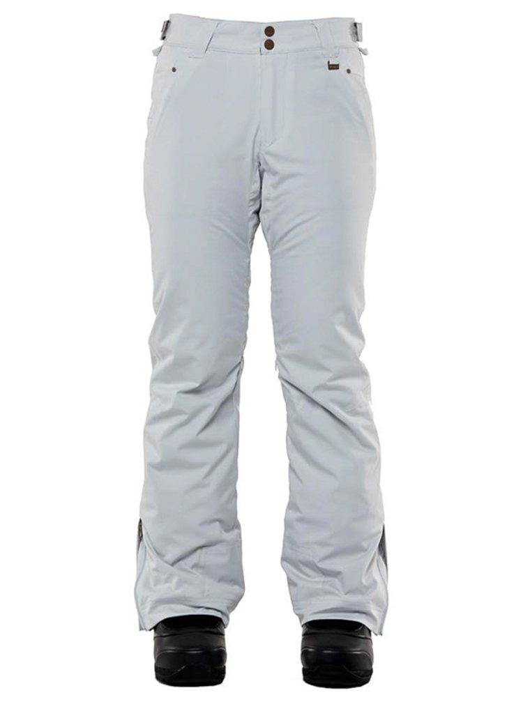 ROJO STRETCH JEAN GLACIER GREY dámské zimní kalhoty - šedá