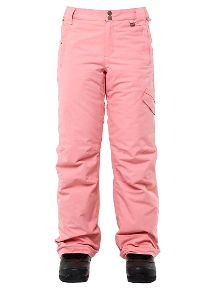 ROJO ADVENTURE AWAITS FLAMINGO PINK dámské zimní kalhoty - růžová
