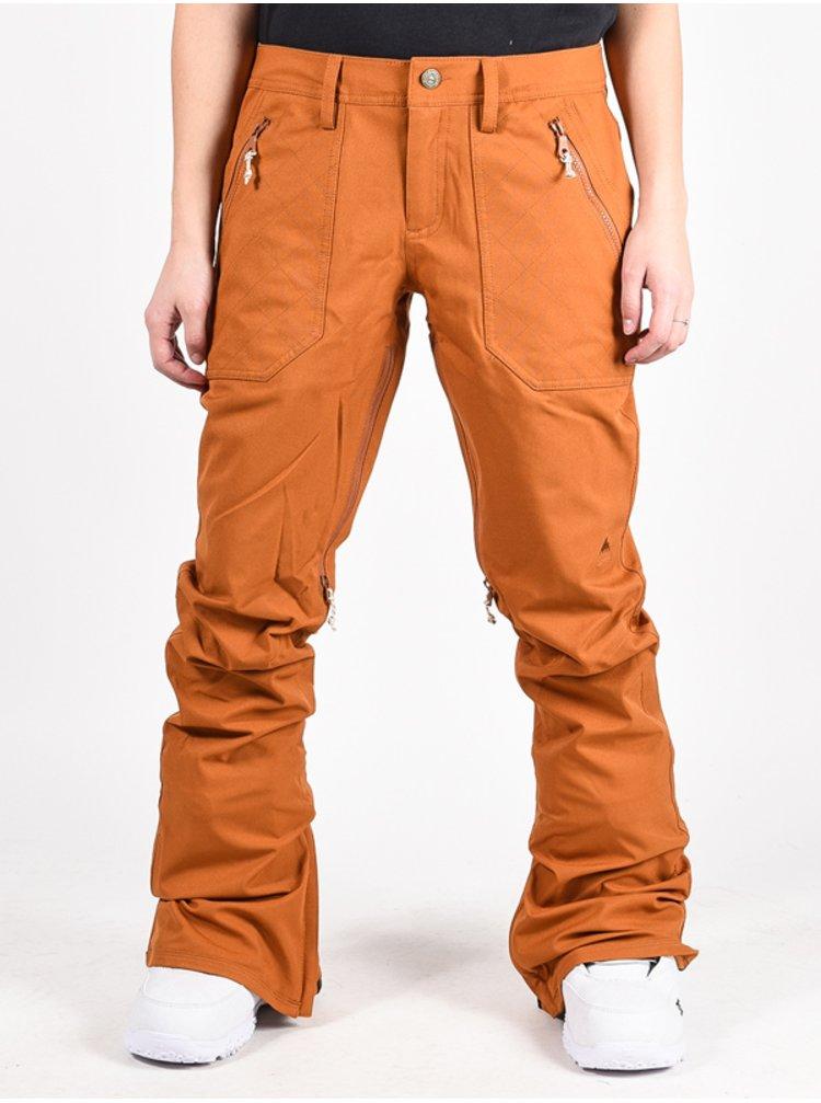Burton VIDA TRUE PENNY dámské zimní kalhoty - hnědá