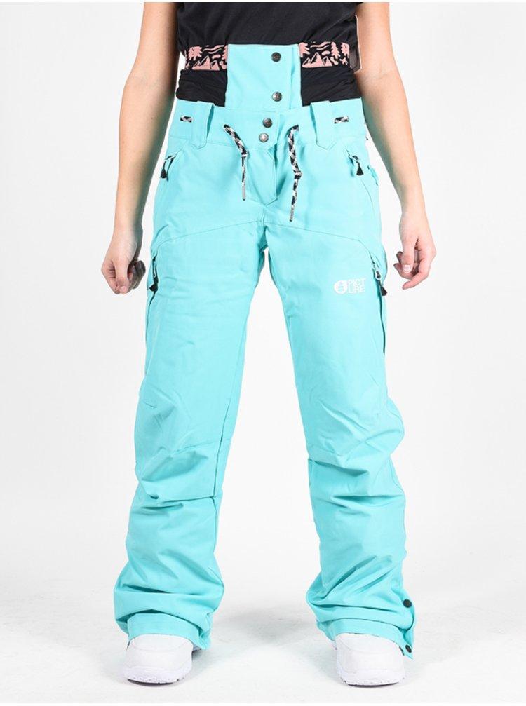 Picture Treva 10/10 TURQUOISE dámské zimní kalhoty - modrá
