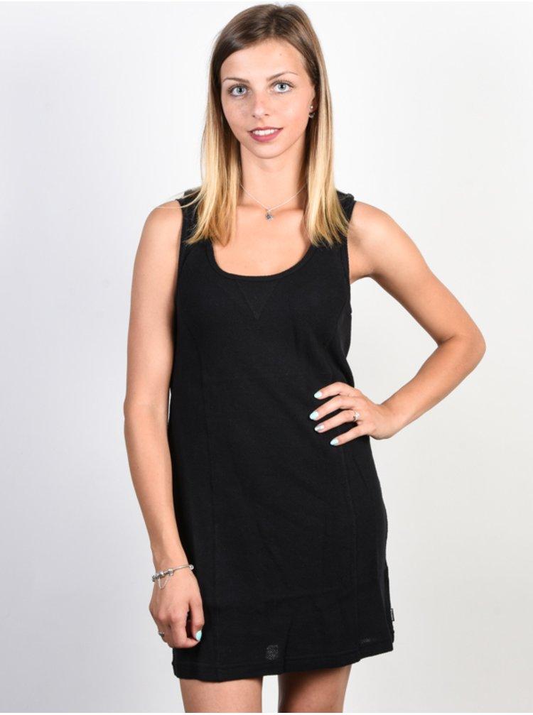 Element FINALLY black krátké letní šaty - černá