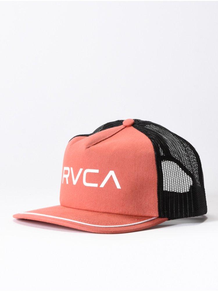 RVCA TITLE RED CLAY baseballová kšiltovka - černá