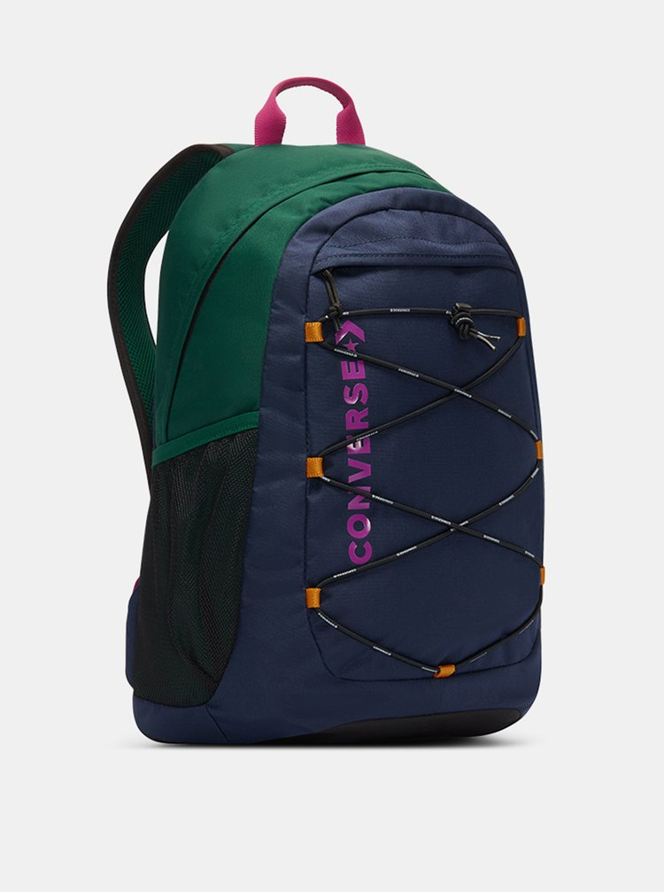 Zeleno-modrý batoh Converse