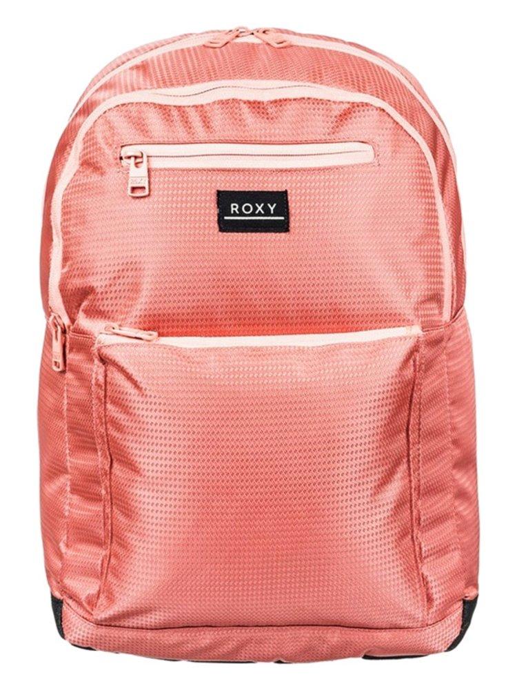 Roxy HERE YOU ARE TEXTURE Terra Cotta batoh do školy - oranžová