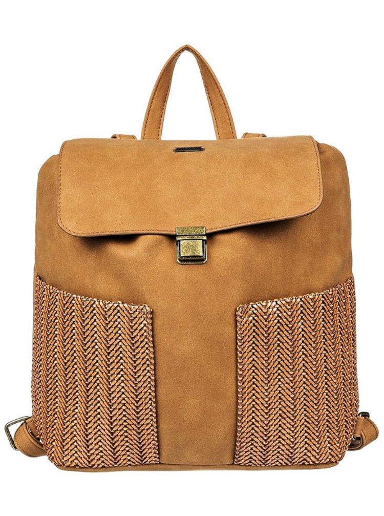 Roxy BEAUTIFUL MIND CAMEL batoh do školy - hnědá