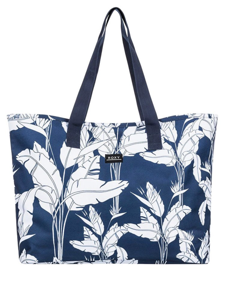 Roxy WILDFLOWER PRINTED MOOD INDIGO FLYING FLOWERS S dámská brašna - modrá