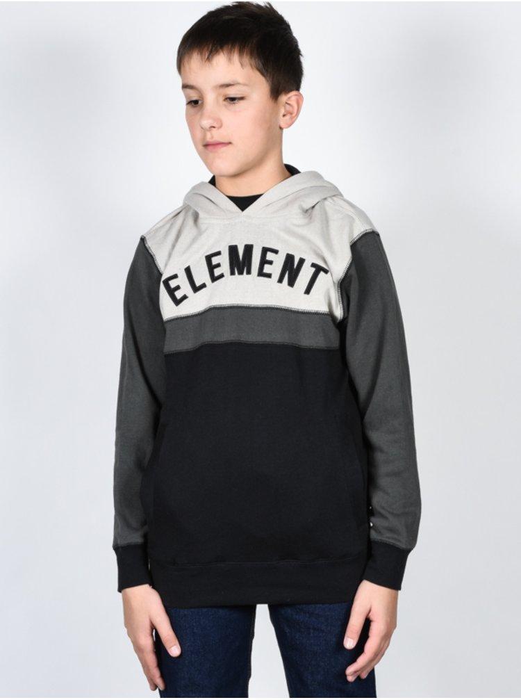 Element MASTERMIND BROWN BEAR mikiny přes hlavu dětská - černá