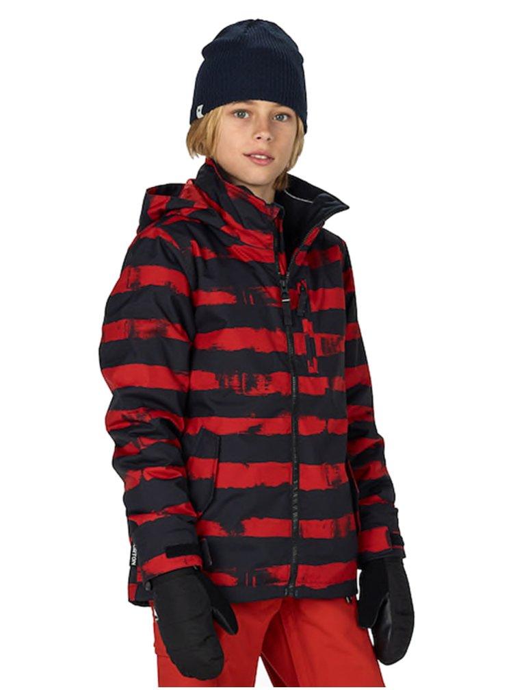 Burton BOYS LINK SYSTM BTMNSK/TRUBLK zimní dětská bunda