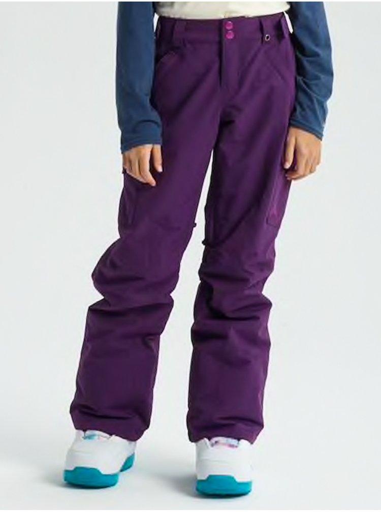 Burton ELITE CARGO CONCORD dětské zimní kalhoty - fialová