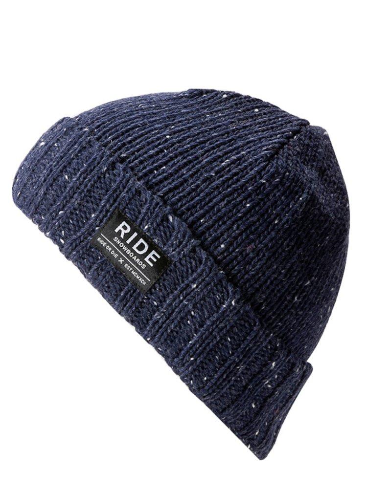 Ride Rag Wool NAVY dětské čepice - modrá