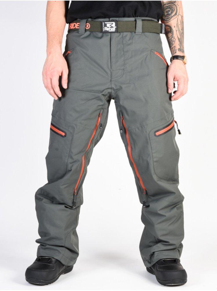 Rehall RORY Oak Grey lyžařské kalhoty pánské - šedá