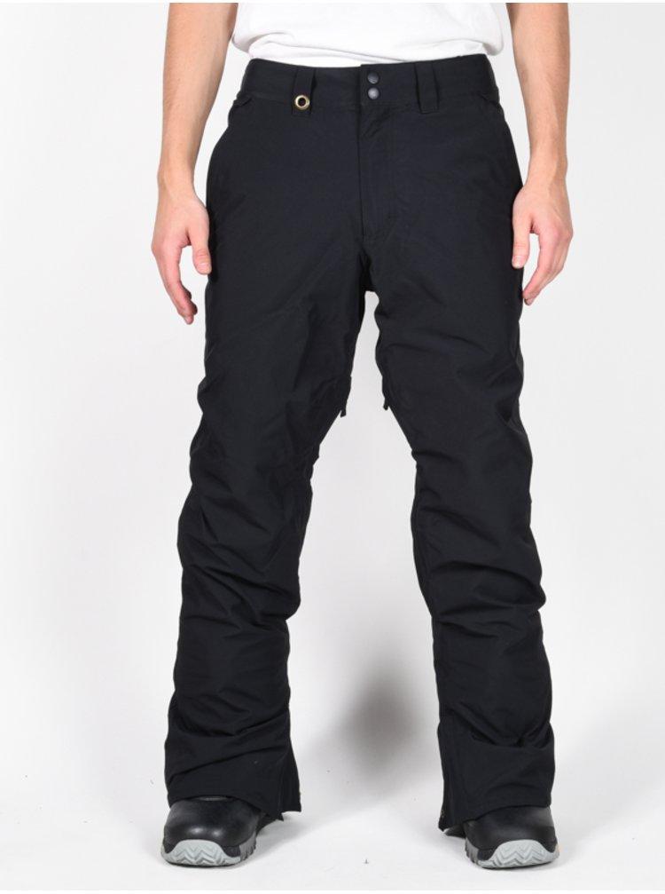 Quiksilver ESTATE black lyžařské kalhoty pánské - černá