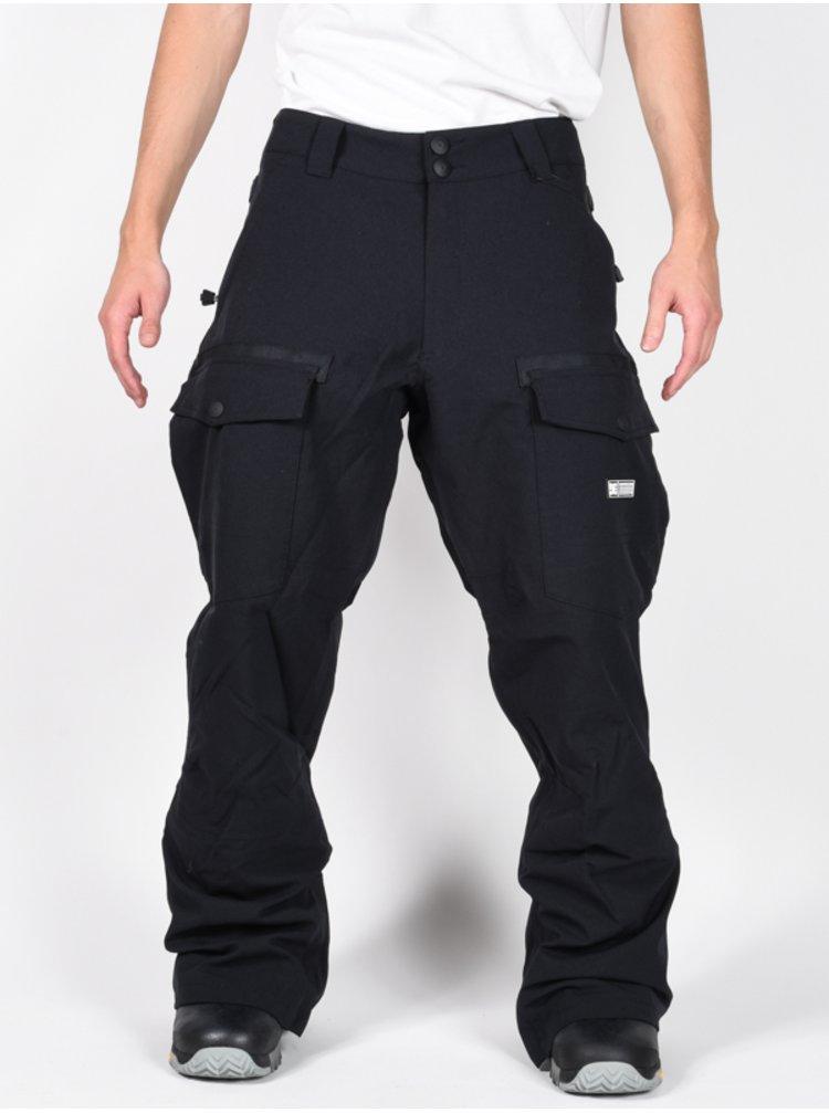 Dc CODE black lyžařské kalhoty pánské - černá