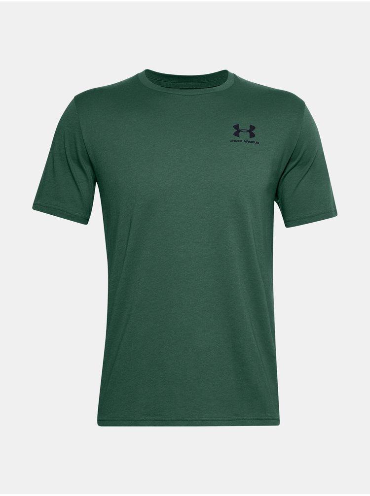Zelené tričko Under Armour UA SPORTSTYLE LC SS