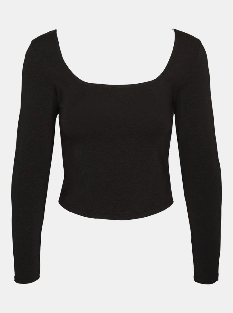 Čierne tričko Noisy May  Kerry