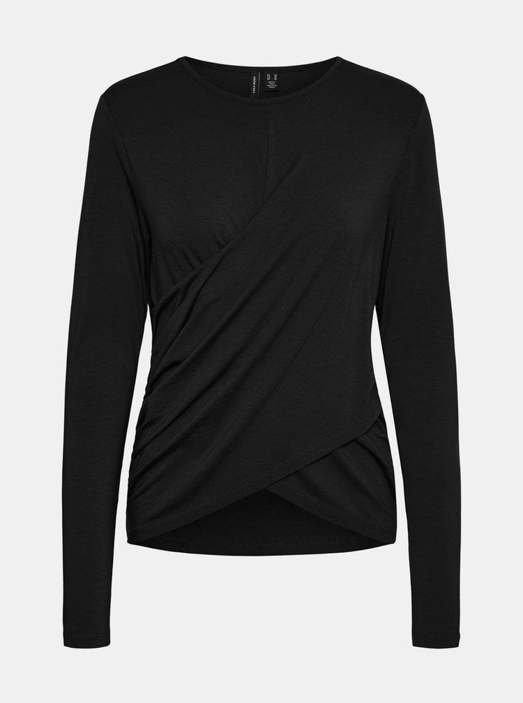 Černé tričko VERO MODA