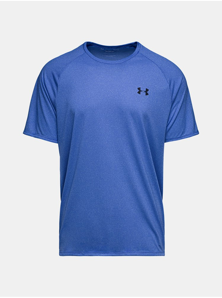 Modré tričko Under Armour Tech 2.0 SS Tee Novelty