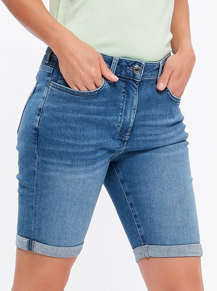 Modré džínové kraťasy M&Co