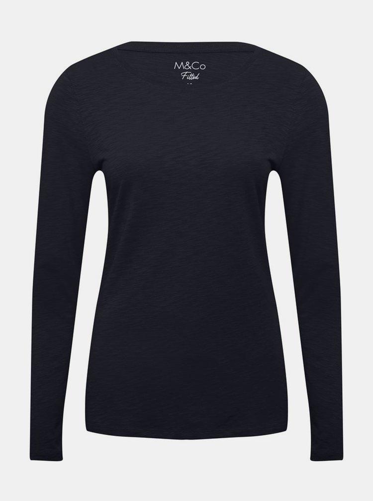 Tmavě modré tričko M&Co