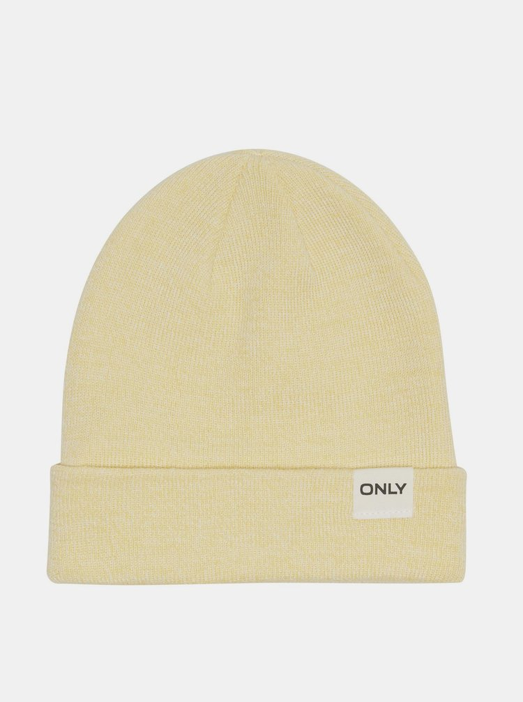 Žltá čiapka ONLY