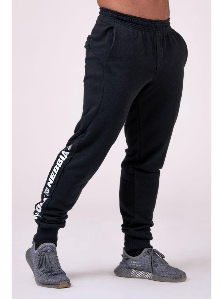 LIMITLESS joggersy 185 - černá